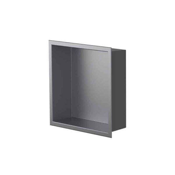 Niche de salle de bain Ally gris mat