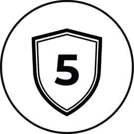 Garantie cinq ans