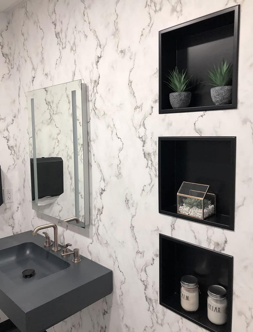 Devenir détaillant de niches de salle de bain Zvelt